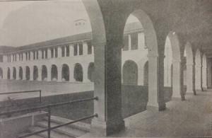 The original Frances Willard School building in 1916